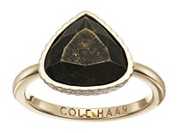 Cole Haan Summer Stone Ring Gold Pyrite Ring