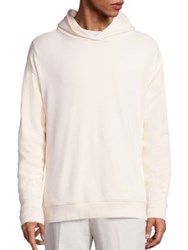 Vince Side Zip French Terry Hoodie Painters Cloth