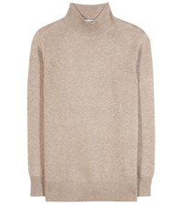 Closed Wool And Cashmere Blend Sweater Beige