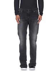 Byblos Denim Denim Trousers Men Steel Grey