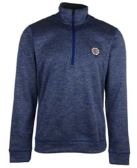Adidas Men's Los Angeles Clippers Team Issue Quarter Zip Pullover