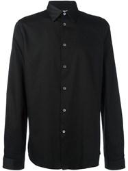 Paul Smith Ps By Classic Button Down Shirt Black