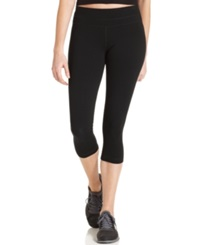 Ideology Active Cotton Blend Cropped Leggings Black
