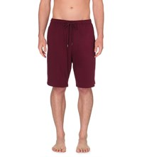 Derek Rose Basel Stretch Jersey Shorts Bordeaux
