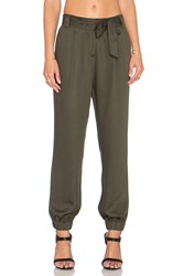 1. State The Waist Utility Soft Pant Olive