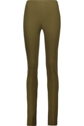 M Missoni Stretch Jersey Leggings Army Green