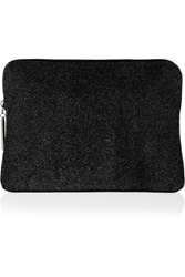 3.1 Phillip Lim 31 Minute Textured Leather Clutch Black