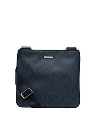 Michael Kors Slim Flat Crossbody Bag Baltic Blue