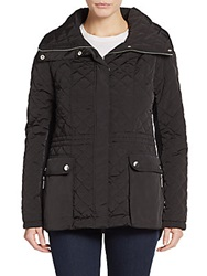 Saks Fifth Avenue Quilted Jacket Black