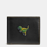 Coach Rexy 3 In 1 Wallet In Glovetanned Leather Black