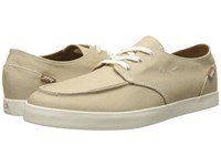 Reef Deck Hand 2 Tan White Men's Lace Up Casual Shoes