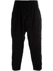 Casey Casey Wide Leg Trousers Black