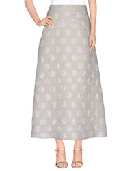 Rochas Skirts Long Skirts Women Ivory