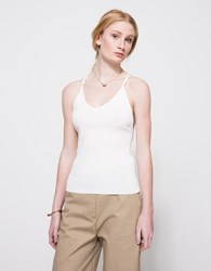 Which We Want Bandage Cami Off White