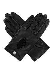 Dents Ladies Lambskin Leather Driving Glove Black
