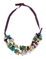 Hoss Intropia Necklaces Green