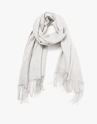 Just Female Clive Scarf In Light Grey