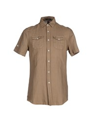 Gas Jeans Gas Shirts Shirts Men Khaki