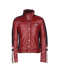 Dandg D And G Jackets Brick Red