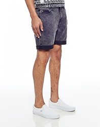 Cheap Monday High Cut Shorts Black Format In Skinny Fit