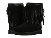 Ugg Classic Short Peacock Black Women's Cold Weather Boots