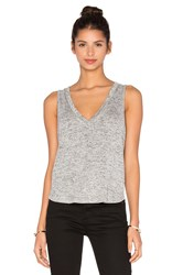 Riller And Fount Pam Cropped Tank Gray