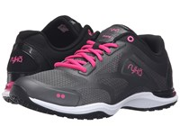 Ryka Grafik 2 Black Iron Grey Athena Pink Women's Shoes