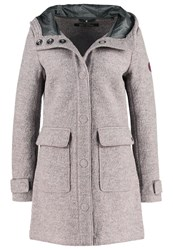 Marc O'polo Classic Coat Hazel Wood Taupe