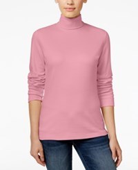 Karen Scott Long Sleeve Turtleneck Only At Macy's Mellow Rose