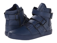 Radii Straight Jacket Vlc Triple Navy Waxed Pebble Leather Men's Shoes Blue