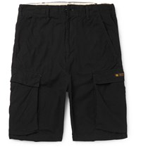 Neighborhood Cotton Ripstop Cargo Shorts Black