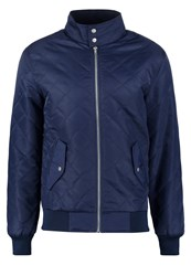 Pier One Bomber Jacket Dark Blue