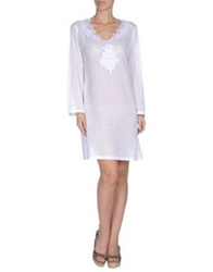 Blumarine Beachwear Cover Ups White