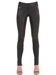 Thierry Mugler Stretch Nappa Leather Pants