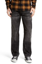 True Religion Men's Brand Jeans 'Ricky' Relaxed Fit Corduroy Pants Onyx