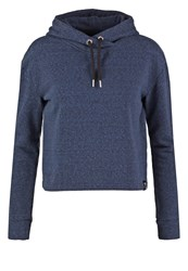 Superdry Luxe Sweatshirt Blackened Midnight Blue Dark Blue
