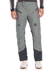 Helly Hansen Insulated Ski Pants Grey Black