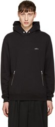 Undercover Black Zippered Hoodie