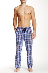 Bottoms Out Plaid Woven Sleep Pant Multi