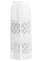 All About Eve Cruise Maxi Skirt Antique White Off White