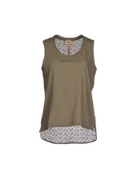Alviero Martini 1A Classe T Shirts Military Green