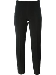 Pt01 Tailored Slim Trousers Black