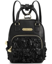 Betsey Johnson Mini Convertible Backpack Rosette