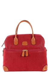 'Life Tuscan' Train Case Red Cognac