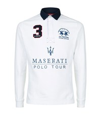 La Martina Maserati Polo Tour Top Male White