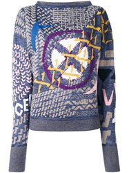 Vivienne Westwood Red Label Multiple Patterns Pullover Multicolour