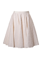 Giambattista Valli Wool Silk Full Skirt