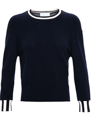 3.1 Phillip Lim Cashmere Crew Neck Blue