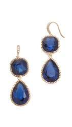 Theia Jewelry Violet Earrings Blue