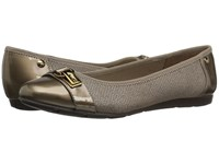 Anne Klein Able Bronze Multi Fabric Women's Slip On Shoes Brown